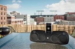 Logitech Rechargeable Speaker S715i, Logitech S715i iPod dock
