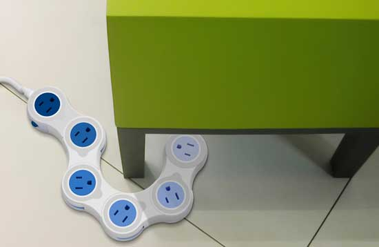 Quirky Pivot Power Powerboard