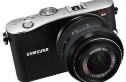 Samsung NX100 digital camera