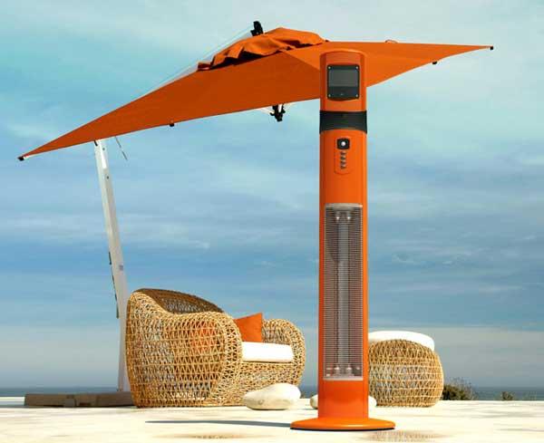 Chillchaser Poseidon outdoor heater