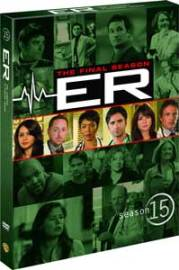 ER: season 15 DVD box