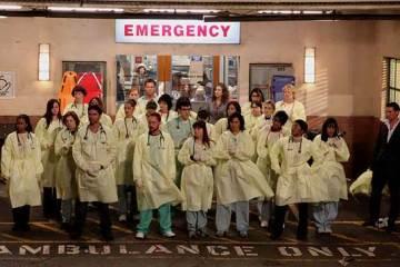 ER: season 15, final scene screen shot