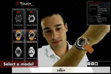 Tissot watch augmented reality