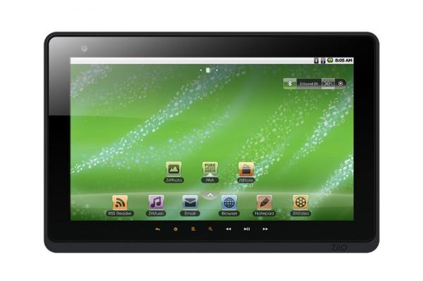 Creative ZiiO 10 inch touchscreen tablet computer