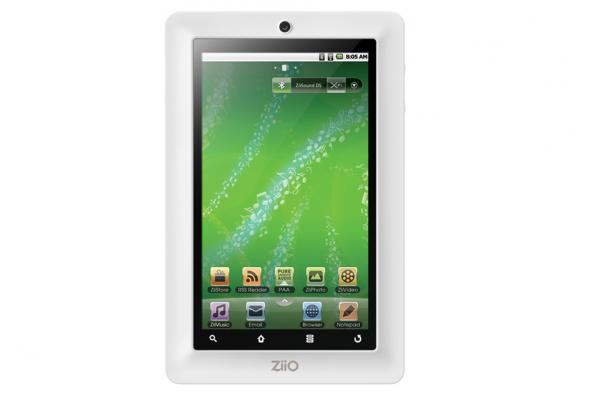 Creative ZiiO7 inch touchscreen tablet computer