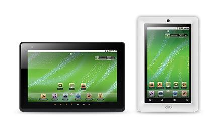 Creative ZiiO touchscreen tablet computer