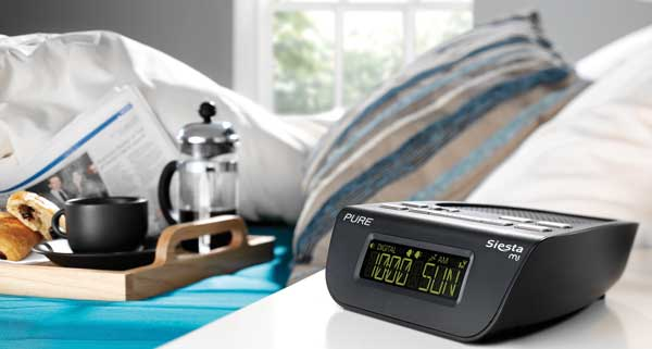 Pure Siesta mi bedside digital radio