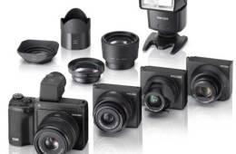 Ricoh GXR digital camera range