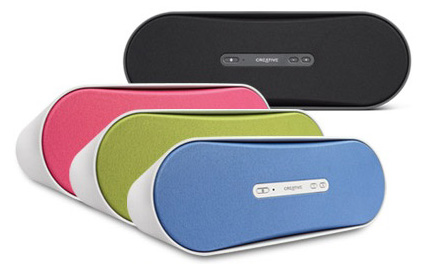 Creative D100 wireless, portable iPod speaker