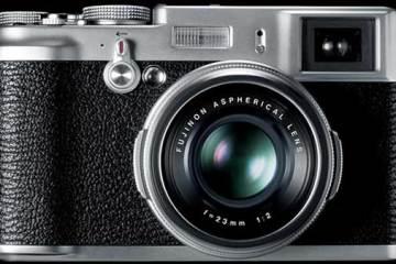 Fujifilm FinePix X100 front
