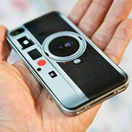Leica Look-Alike iPhone 4 skin