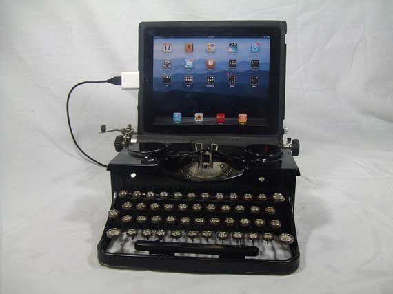 USBTypewriter with iPad