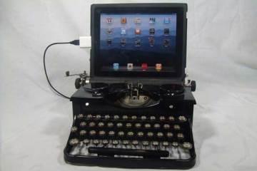 USBTypewriter with iPad