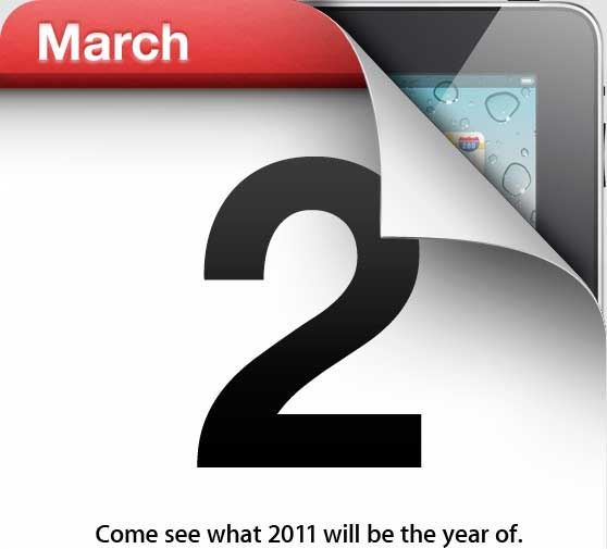 Apple iPad 2 event