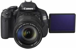 Canon EOS 600D digital SLR camera