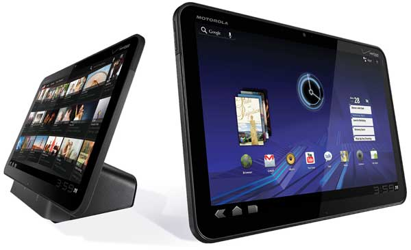 Motorola Xoom tablet computer, Android Honeycomb