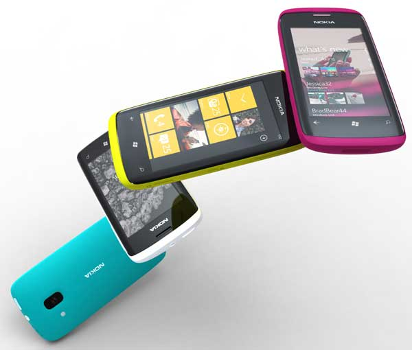 Nokia concept Windows 7 phones
