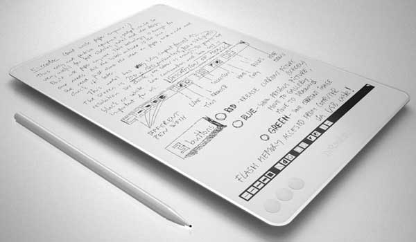 NoteSlate, electronic ink device