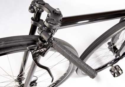 Inner City Bike - close-up view of the handlebars