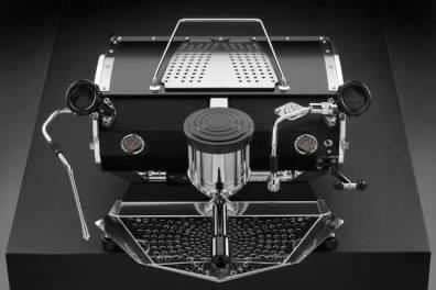 Kees Van Der Westen Speedster coffee machine, top down view