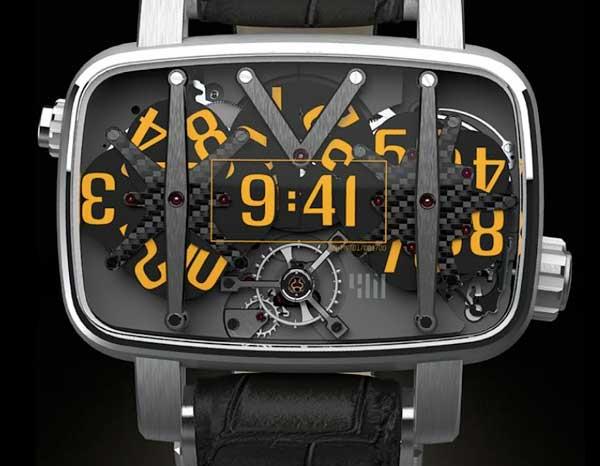 4N MVT01/42 watch face