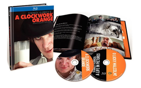 A Clockwork Orange 40th Anniversary Edition on Blu-ray