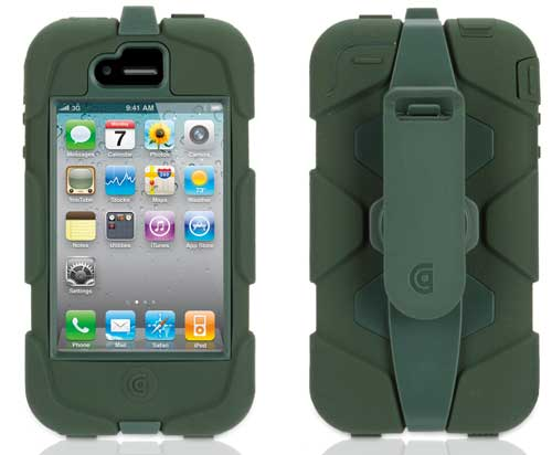 Griffin Survivor - heavy duty iPhone 4 case