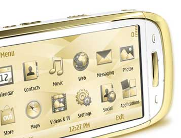 Nokia Oro, light colour