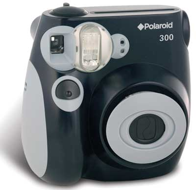 Polaroid 300 camera, black