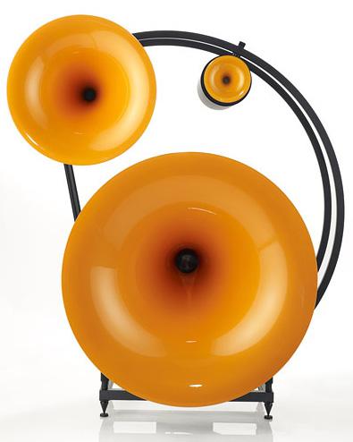 Avantgarde Trio Classico speakers - orange
