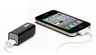 Griffin USB Reserve Power, with iPhone 4