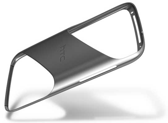 HTC Sensation, rear view