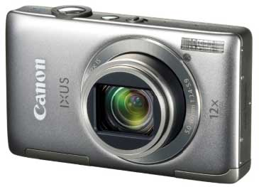 Canon IXUS 1100 HS digital camera, silver