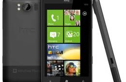 HTC Titan, and views of the front, back and side