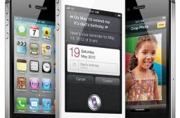Apple iPhone4s, both black and white models