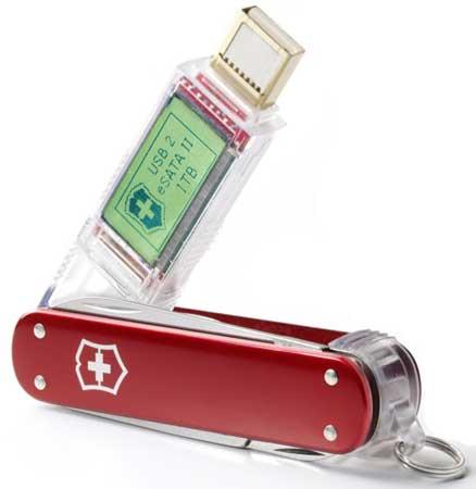 Victorinox Swiss Army Knife SSD 1TB USB drive