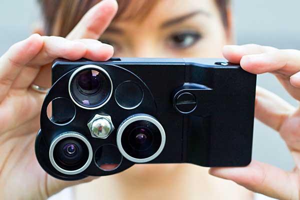 iPhone Lens Dial, seen closeup