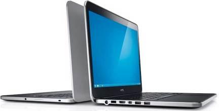 Dell XPS 14 laptop, 2012 model, left side view