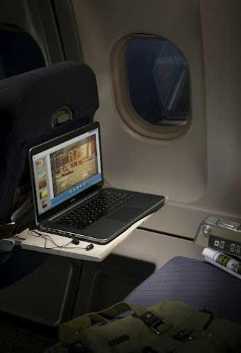 Dell XPS 14 laptop, lifestyle shot