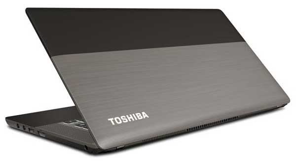 Toshiba Satellite U840W Ultrabook computer, back