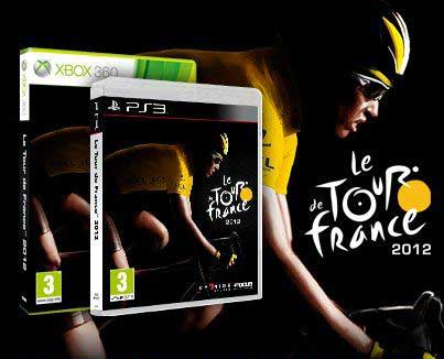 Tour De France 2012 video game PlayStation 3 and Xbox 360 box shots