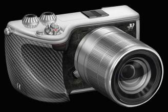 Hasselblad Lunar mirrorless camera in black