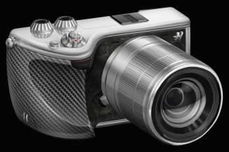 Hasselblad Lunar mirrorless camera in black