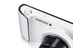 Samsung Galaxy Camera, front left angle, white