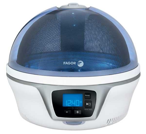 Fagor Spoutnik microwave oven, blue