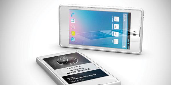 YotaPhone closeup