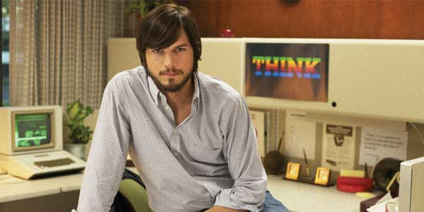 "Screenshot from the film ""Jobs"", starring Ashton Kutcher as Steve Jobs"