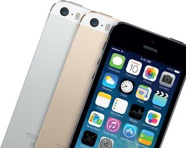 iPhone 5S colour range, crop