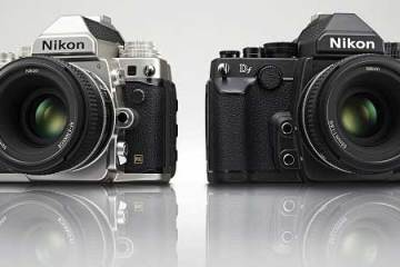 Nikon Df DSLR camera colour range