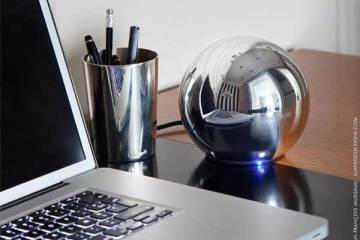 LaCie Christofle Sphere external hard drive